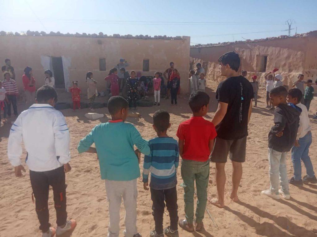 Parkour en los campamentos de refugiados saharauis