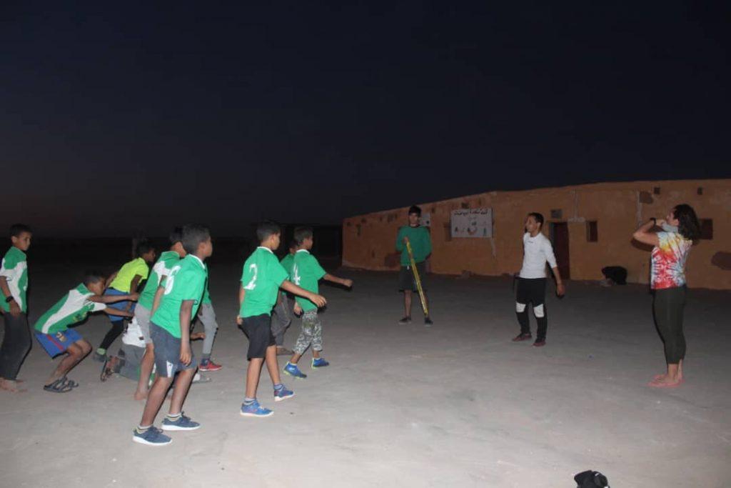 Parkour en campamentos de refugiados saharauis