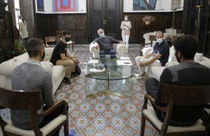 Motion Academy con el alcalde de Valencia Joan Ribó