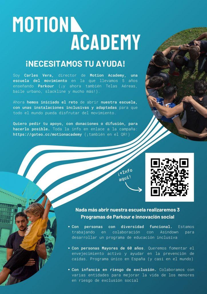 Motion Academy Crowdfunding innovación social